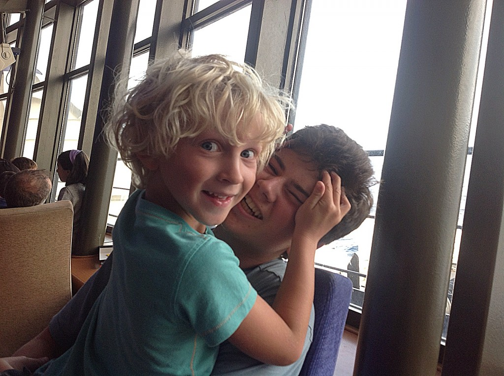 Photo at the airport - Spain holiday 2014
