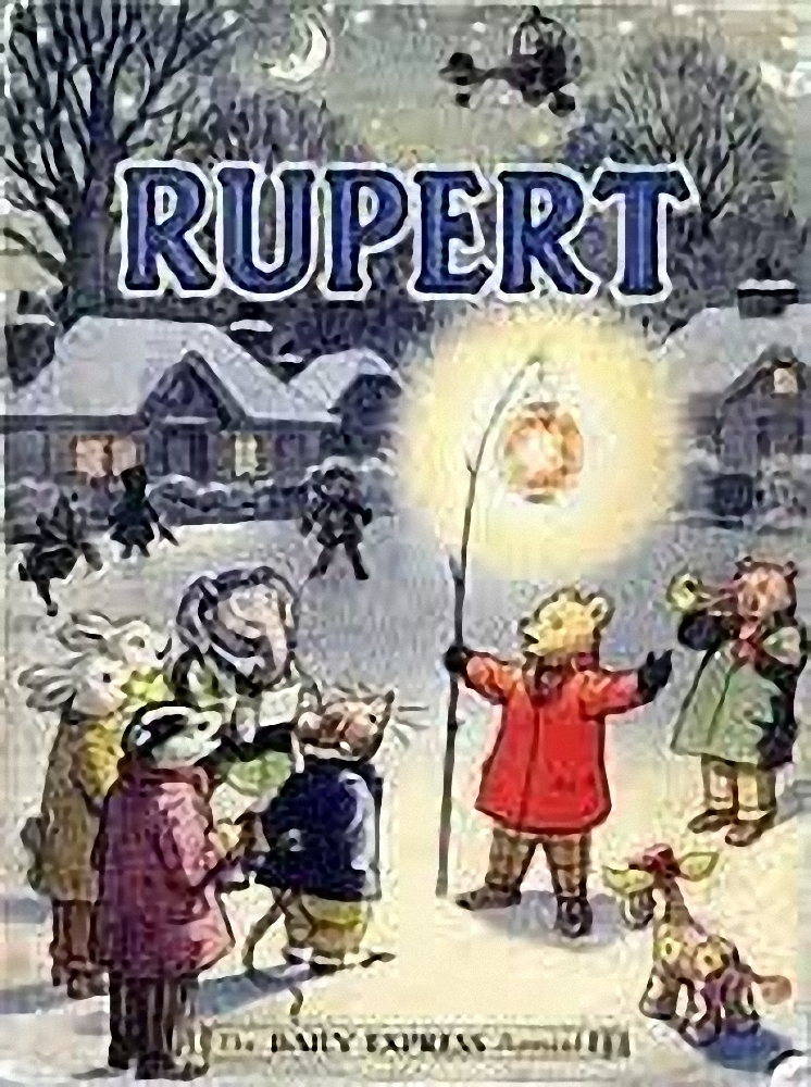 Rupert at Christmas