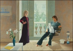 David Hockney's Mr and Mrs Clark and Percy