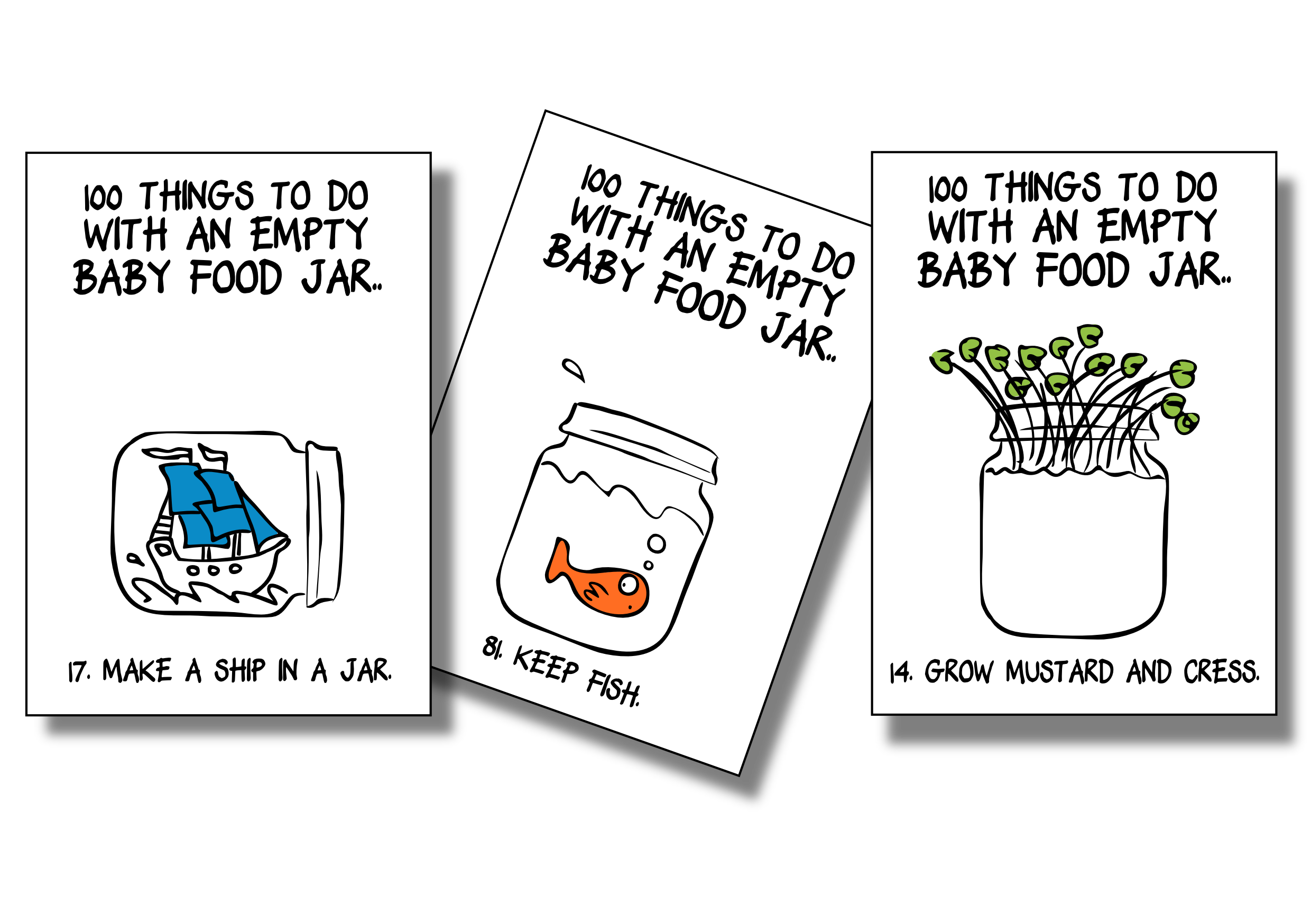 100 things to do with an empty baby food jar robert duncan for Things that are empty